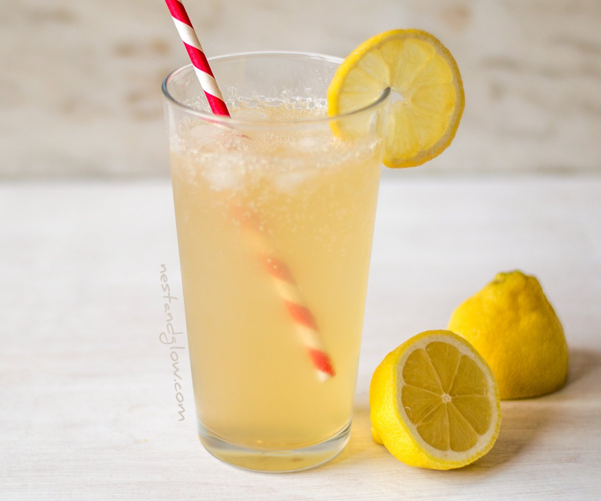 Apple Cider Vinegar Lemonade
